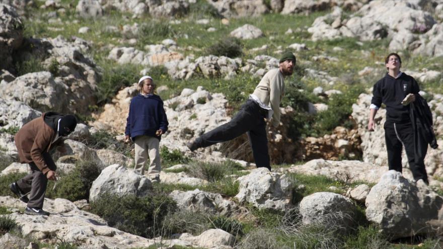 Vídeo: Colono israelí ataca a un activista pro-DDHH en Cisjordania