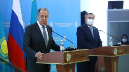 Lavrov advierte: Rusia responderá a cualquier paso hostil de EEUU