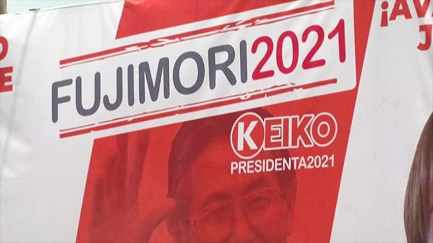 Se realiza el cierre de campaña de candidatos a presidencia en Perú   HISPANTV