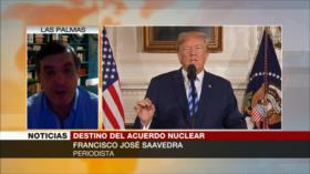 Saavedra: El problema del acuerdo nuclear es EEUU no Irán