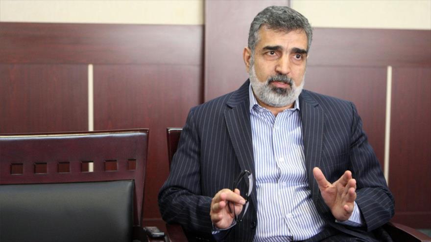Portavoz de la Organización de Energía Atómica de Irán (OEAI), Behruz Kamalvandi.