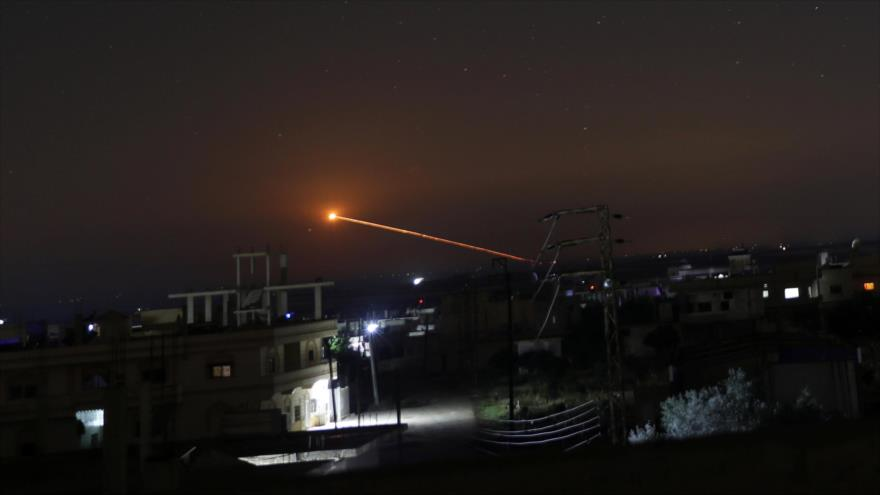 Un ataque de Israel contra Daraa, Siria, 10 de mayo de 2018. (Foto: Reuters)