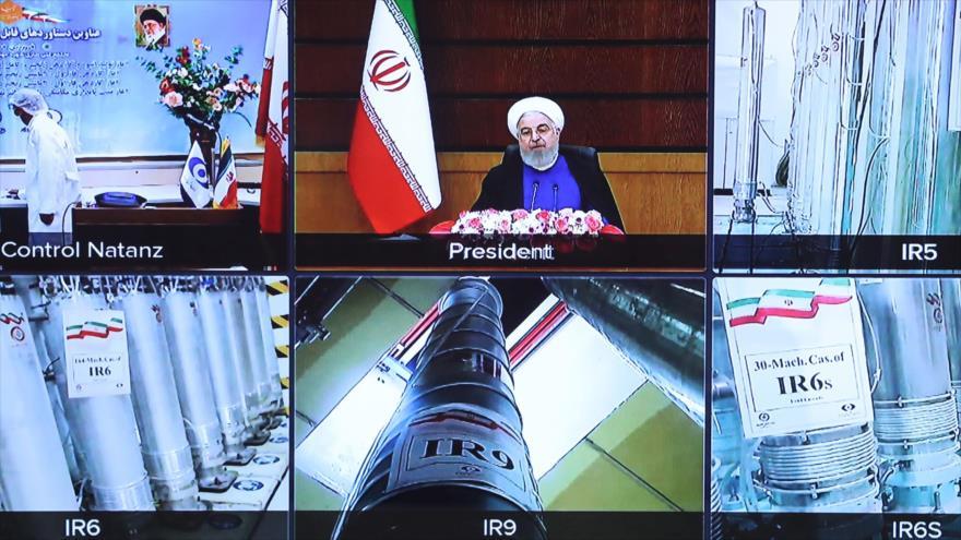 Irán desvela nuevos logros atómicos en Día de la Tecnología Nuclear