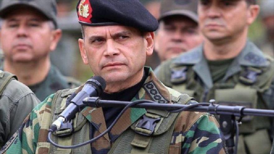 E jefe del Comando Estratégico Operacional de la Fuerza Armada Nacional Bolivariana, Remigio Ceballos