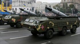 Vídeo: Ucrania envía misiles balísticos cerca de frontera de Rusia