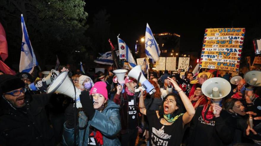 Vídeo: Israelíes piden cárcel para Netanyahu tras su designación