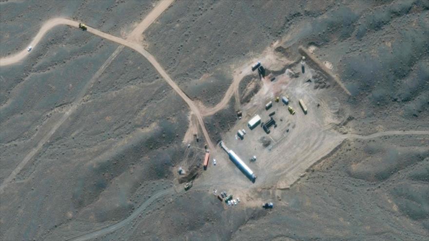 Una vista general de la planta nuclear de Natanz, en el centro de Irán, 28 de octubre de 2020. (Foto: AFP)