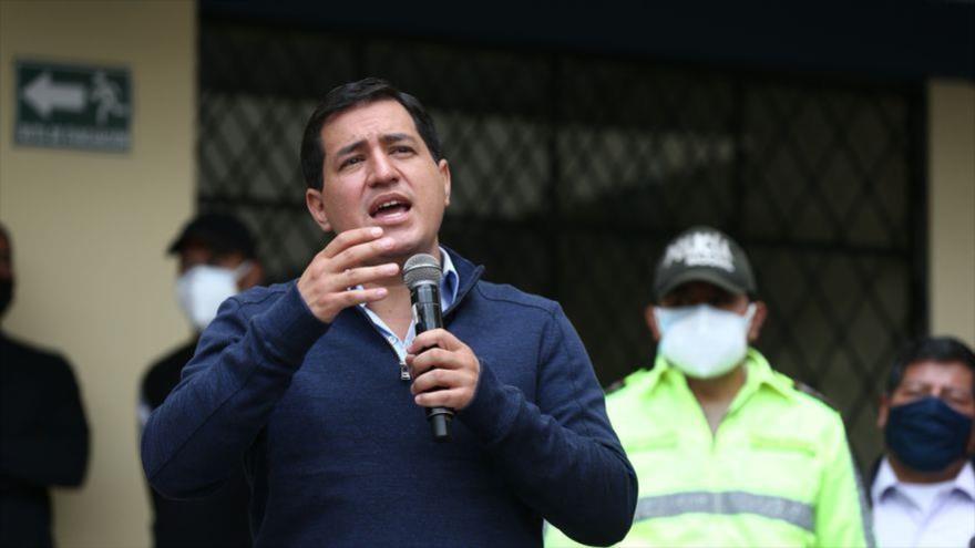 Arauz llama a ecuatorianos a votar para pasar página de era Moreno | HISPANTV