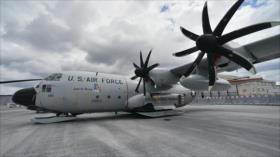 EEUU envía avión militar a Ucrania en medio de tensiones con Rusia