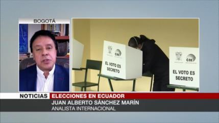 Sánchez: No se puede predecir el resultado del balotaje en Ecuador