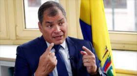 Correa a Lasso: Cese guerra judicial que destruye vidas y familias
