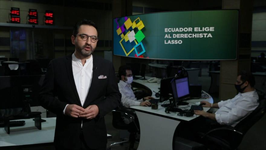 Buen día América Latina: Ecuador elige al derechista Lasso