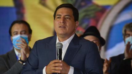 Arauz pide reconciliación y cese de persecución política en Ecuador