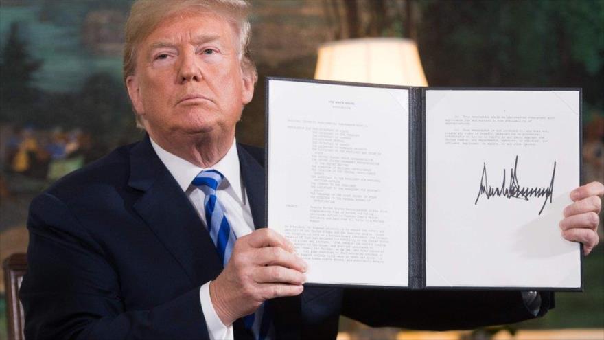 Irán critica a EEUU por seguir la fallida política de Donald Trump