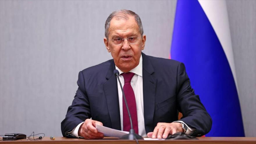 El ministro de Asuntos Exteriores de Rusia, Serguéi Lavrov. (Foto: TASS)