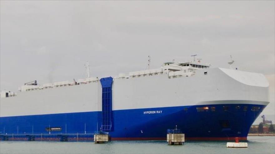 El barco israelí Hyperion.