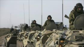 """Ucrania y Rusia al borde de guerra: """"OTAN está al lado de Ucrania"""""""