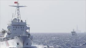 Audio: Armada china lanza advertencia a buque de Taiwán