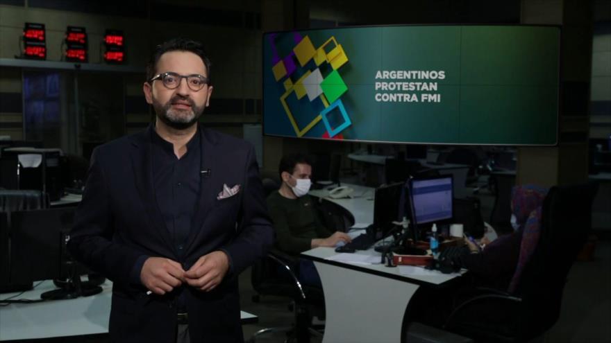 Buen día América Latina: Argentinos protestan contra FMI