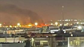 Vídeo: Dron armado golpea cerca de base de EEUU en el norte de Irak