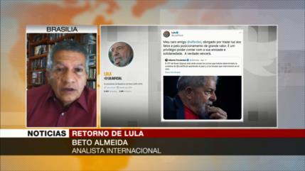 'Lula sería vencedor si fuera a disputa electoral con Bolsonaro'