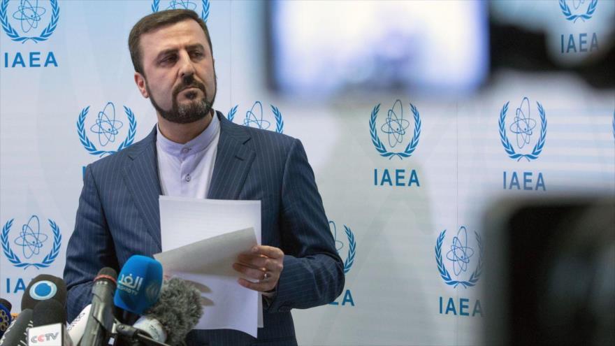 El representante permanente de Irán ante las organizaciones internacionales asentadas en Viena (Austria), Kazem Qaribabadi,