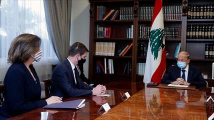 El Líbano remarca a EEUU que defenderá su soberanía ante Israel
