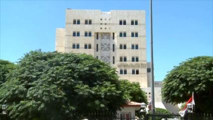 Damasco condena intentos del eje antisirio en el seno de OPAQ