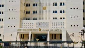 Siria condena acto de sabotaje israelí en planta nuclear iraní
