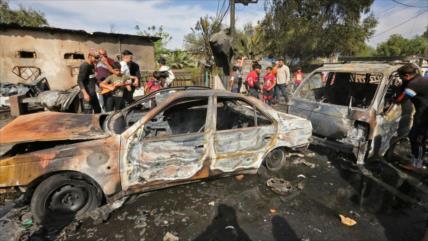 5 muertos y 21 heridos en ataque con coche bomba en Bagdad