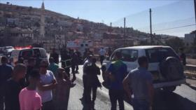 Colono israelí atropella y mata a un palestino en Cisjordania