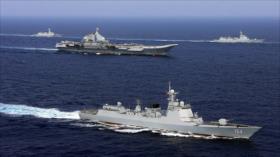 China maniobra con fuego real con enviados de Biden en Taiwán