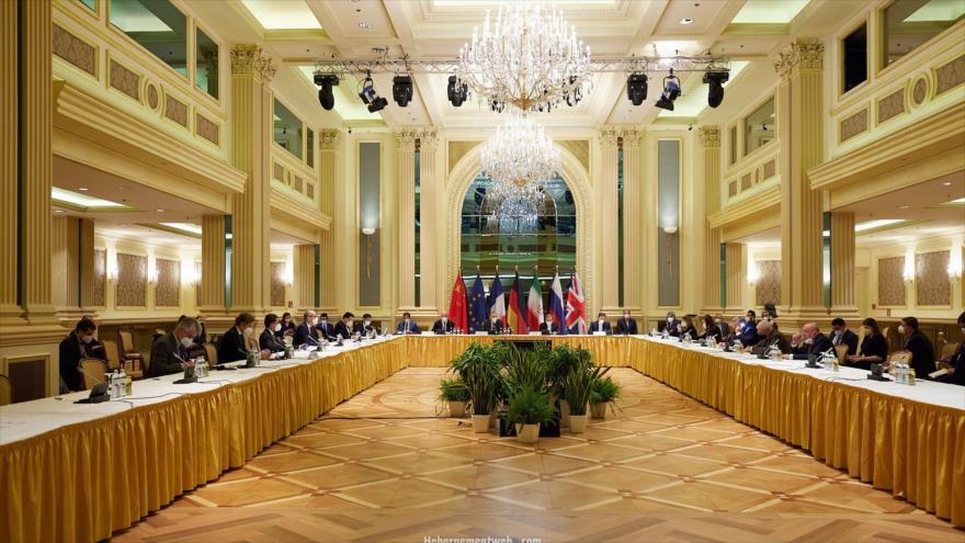 Reunión de la Comisión Conjunta del acuerdo nuclear, en Viena (capital de Austria).