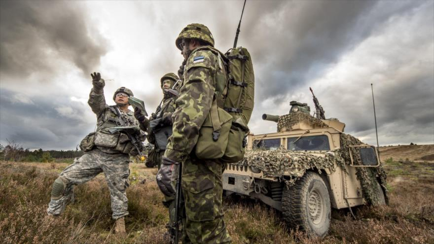 Entrenamiento de las fuerzas de respuesta rápida de Estados Unidos y Estonia en Polonia. (Foto: Flickr)