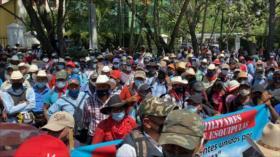 Excombatientes en Guatemala exigen resarcimiento al Estado