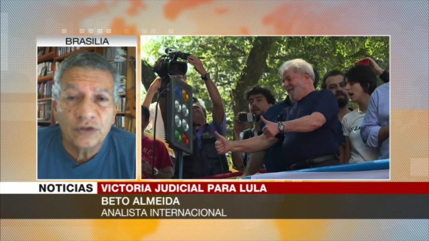 Almeida: Persecución a Lula fue un fraude de comienzo a fin