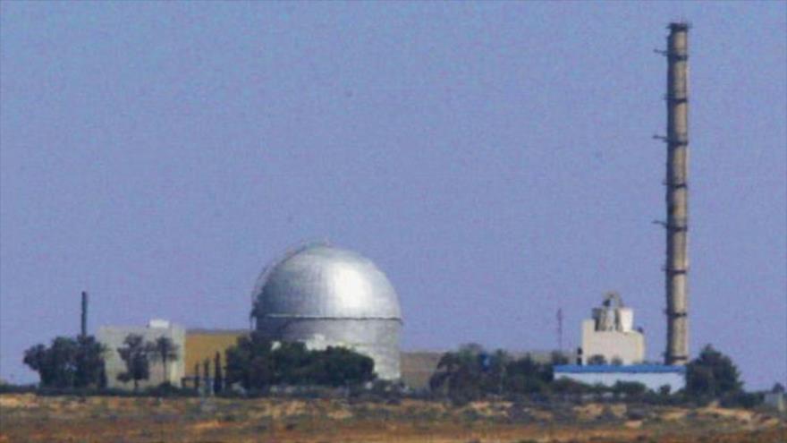 La central nuclear isrealí Dimona, en el desierto del Néguev, en el sur de los territorios ocupados palestinos.