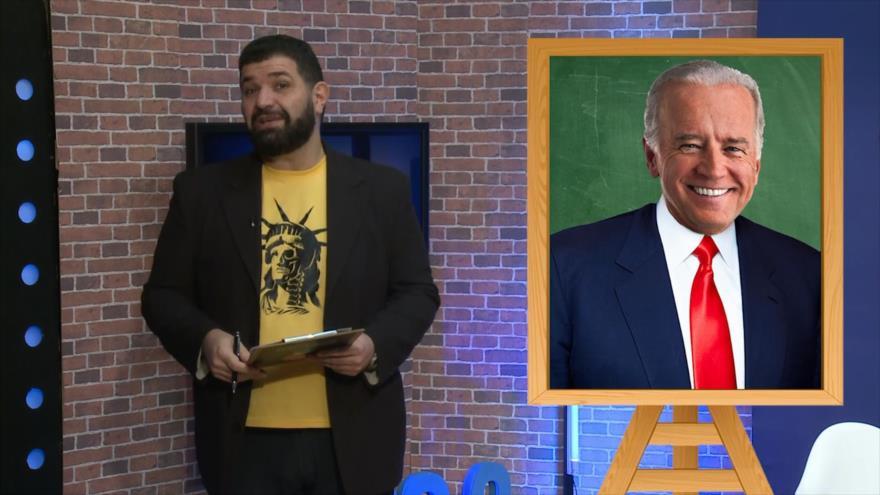 El Frasco, medios sin cura: Joe Biden, Dos Caras