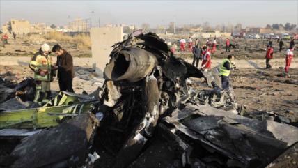 Irán refuta alegaciones de Ucrania sobre derribo delvuelo PS-752