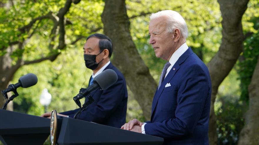 Despliegue desde la Casa Blanca: EEUU y Japón se alían ante China   HISPANTV