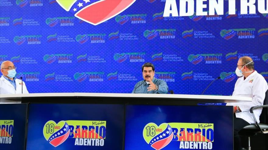 """Maduro tilda de """"guerra geopolítica"""" la monopolización de vacunas"""