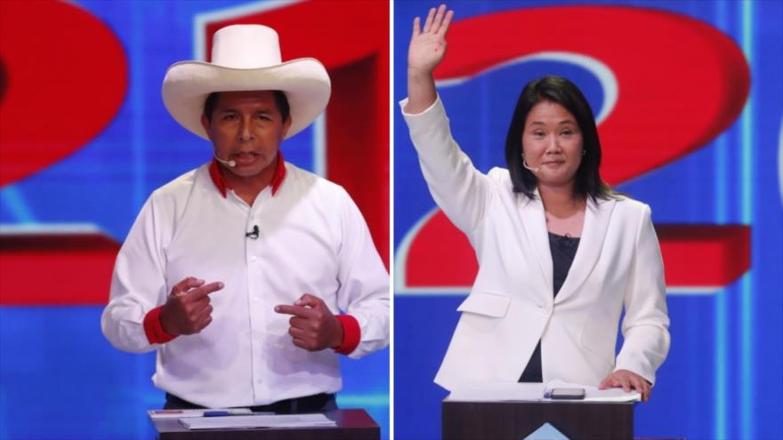 Confirmado: Castillo y Fujimori competirán en balotaje presidencial | HISPANTV
