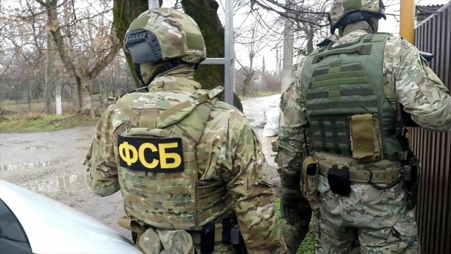 Integrantes del Servicio Federal de Seguridad de Rusia (FSB, por sus siglas en ruso).