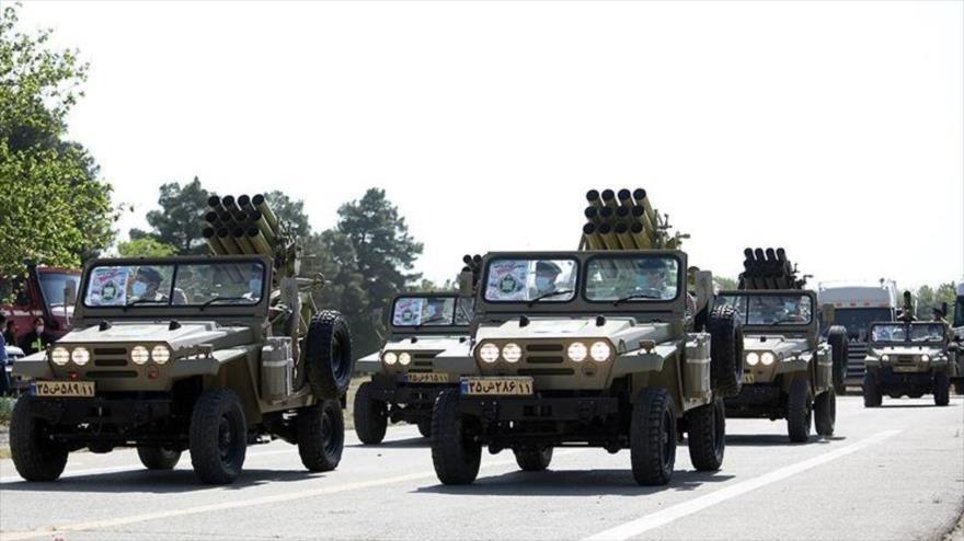'Ejército iraní está mejor equipado que nunca, pese a sanciones' | HISPANTV