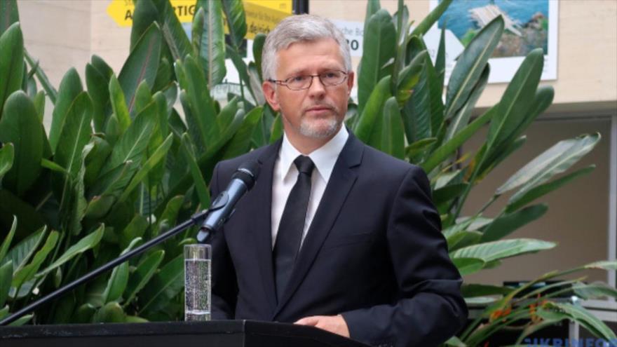 El embajador de Ucrania en Alemania, Andriy Melnyk.