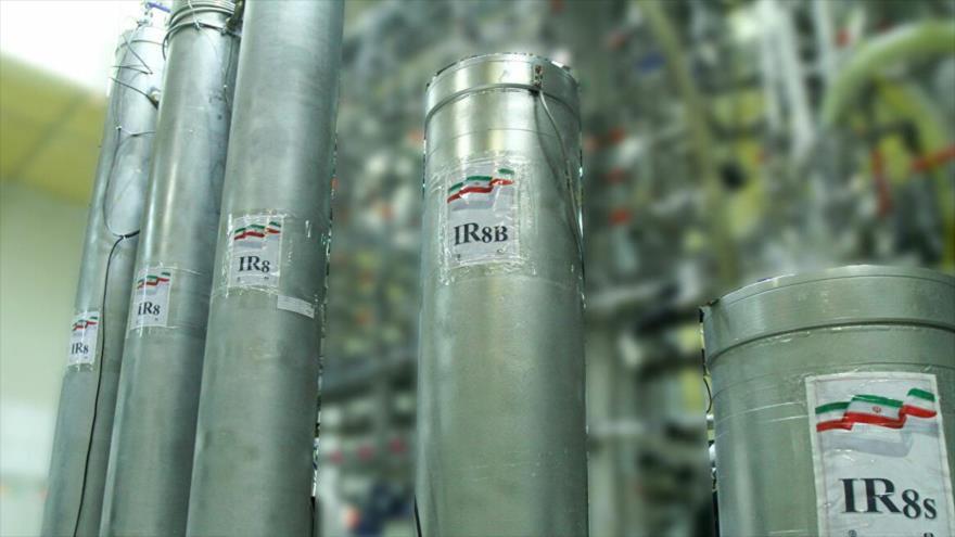 Parte de la planta nuclear de Natanz, en el centro de Irán.
