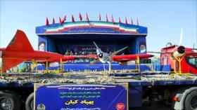 Irán se jacta ante enemigos: Drones son nuestra carta de triunfo