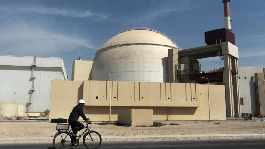 La planta nuclear de Bushehr, situada en el sur de Irán.