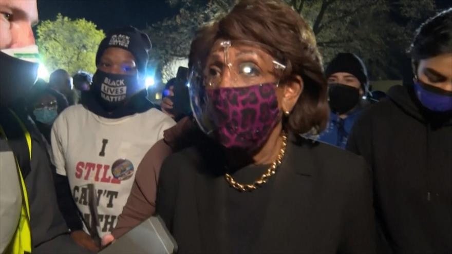 Congresista se une a protestas raciales en Minesota, EEUU