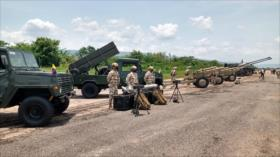 Colombia realiza una maniobra militar en la frontera con Venezuela